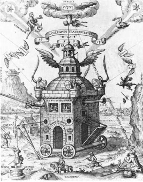 Rozenkruciáni – Confessio Fraternitatis </br> Vyznání rosikruciánského bratrstva